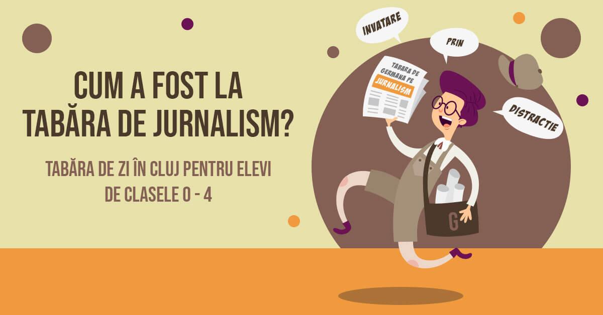 tabara de jurnalism in limba germana