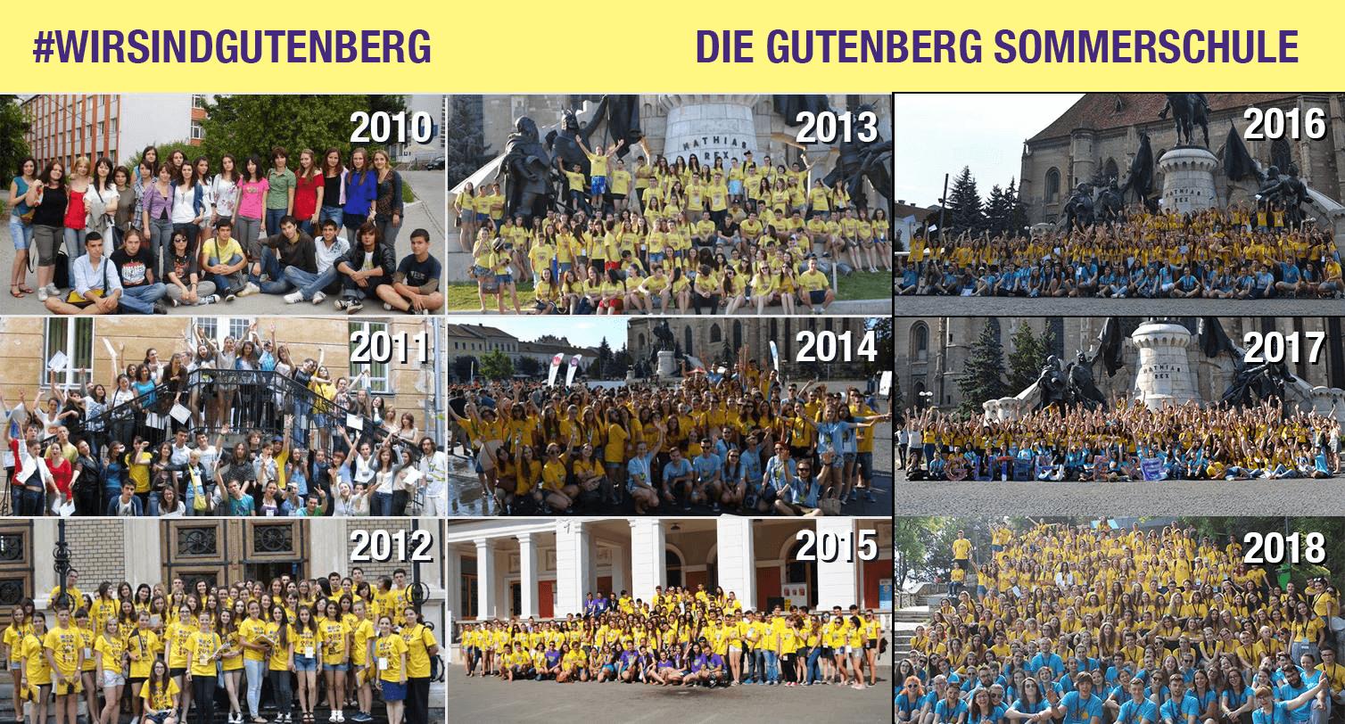 Scoala de vara Gutenberg