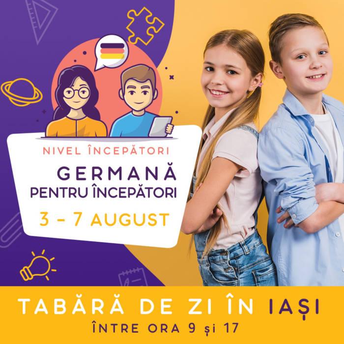 Tabara in limba germana la iasi